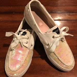 Sperry sequin shoes. W9 / M7.5